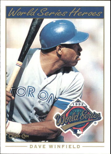 Photo of 1993 O-Pee-Chee World Series Heroes #4 Dave Winfield