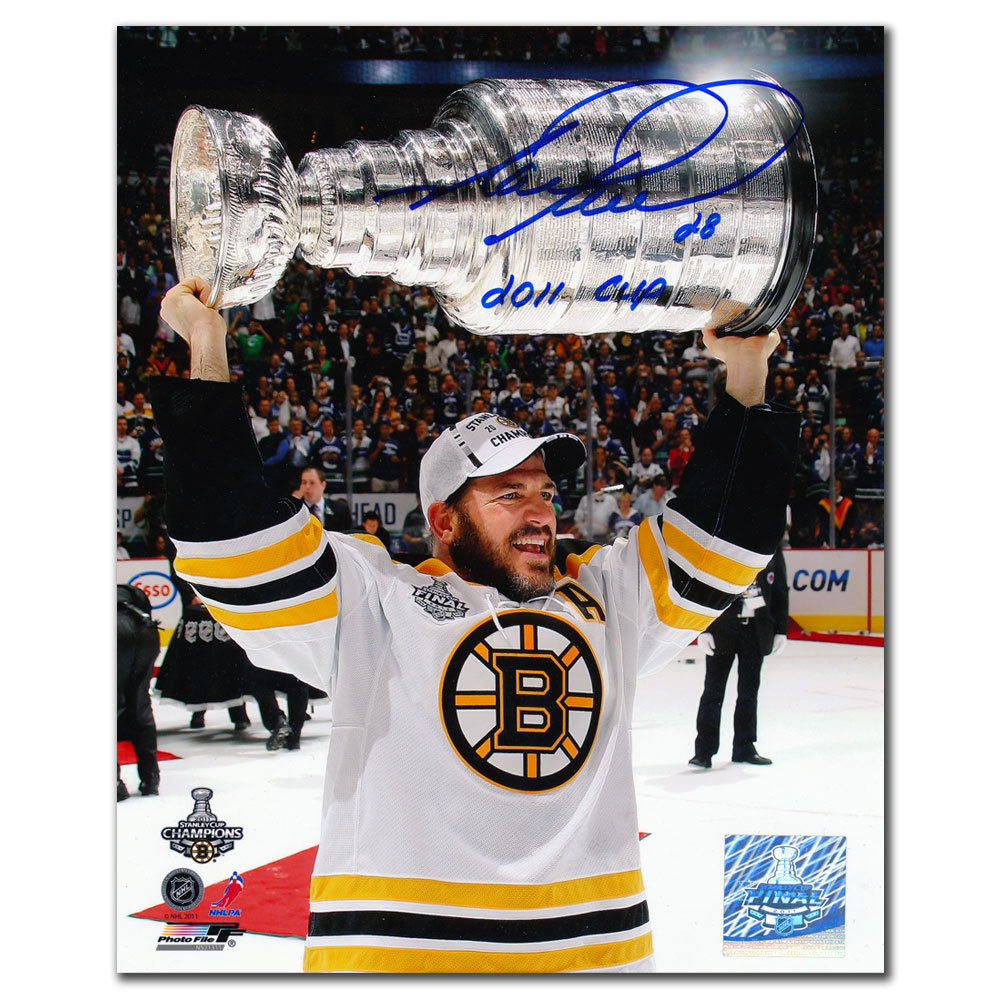 Mark Recchi Boston Bruins 2011 Cup Autographed 8x10