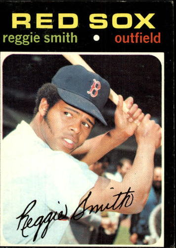 Photo of 1971 Topps #305 Reggie Smith