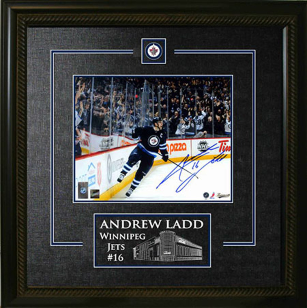 Andrew Ladd - Signed & Framed 8x10