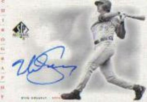 Photo of 2001 SP Authentic Chirography #MS Mike Sweeney