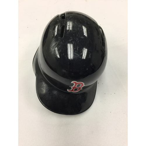 Photo of Travis Shaw October 2, 2016 Game-Used Helmet