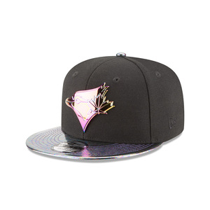 Oil Tricked Snapback Black by New Era