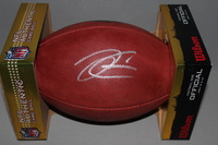 NFL - RAIDERS DEREK CARR SIGNED AUTHENTIC FOOTBALL