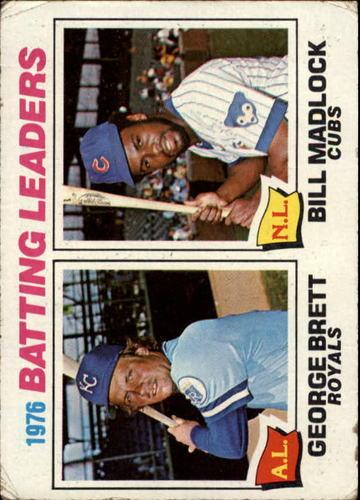 Photo of 1977 Topps #1 Batting Leaders/George Brett/Bill Madlock