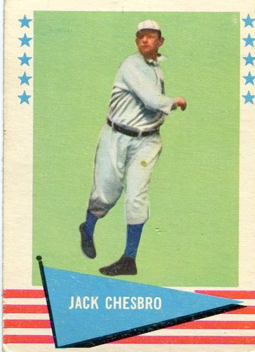 Photo of 1961 Fleer #13 Jack Chesbro