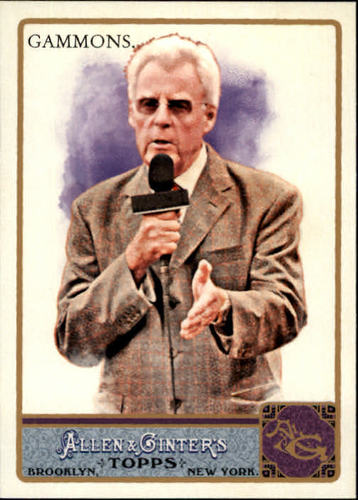 Photo of 2011 Topps Allen and Ginter #298 Peter Gammons