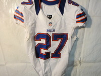 STS - BILLS STEPHON GILMORE GAME WORN JERSEY