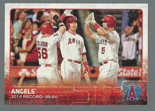 Photo of 2015 Topps #223 Los Angeles Angels