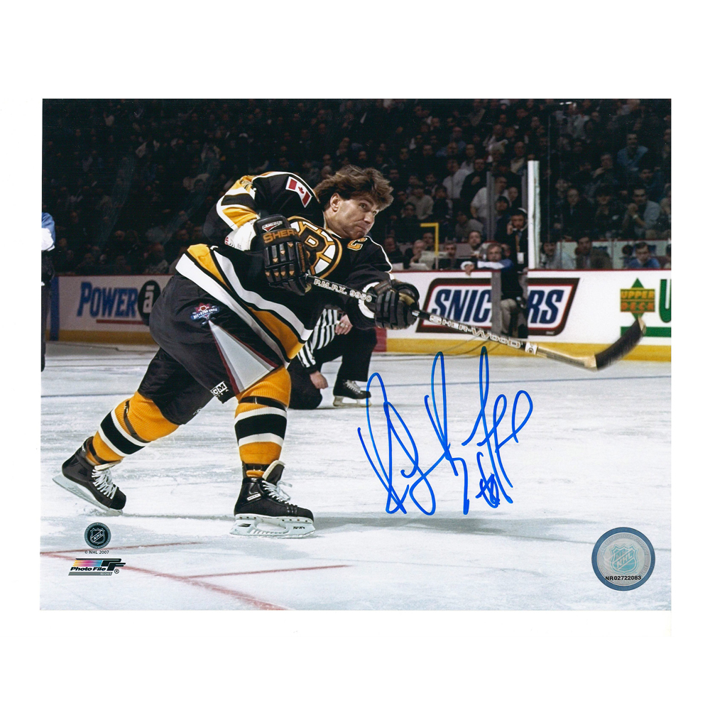 RAY BOURQUE Signed Boston Bruins 8 X 10 Photo - 70508