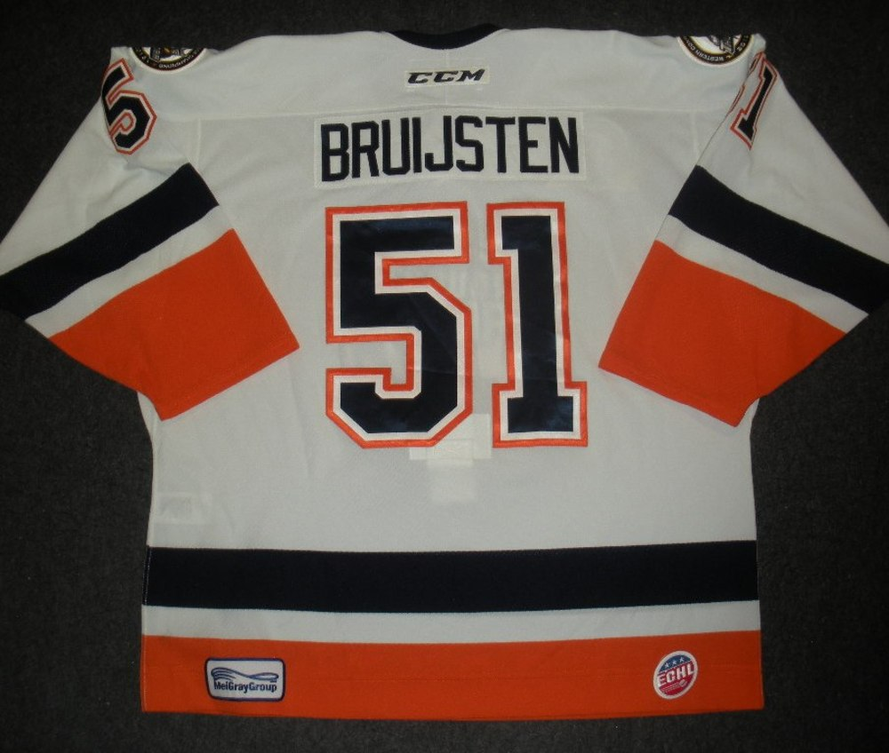 Mitch Bruijsten - Hockey Heritage Weekend - Stockton Thunder - Game-Worn Jersey