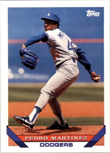 Photo of 1993 Topps #557 Pedro Martinez