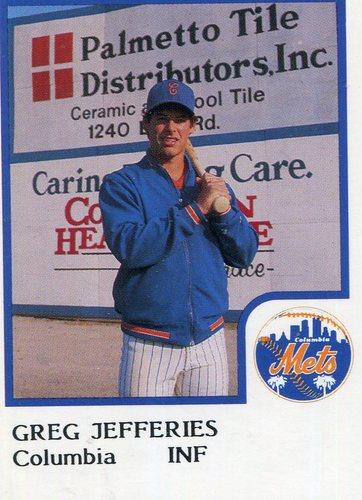 Photo of 1986 Columbia Mets ProCards #16 Gregg Jefferies
