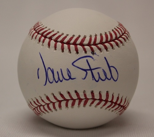 BLUE JAYS AUTHENTICS-Autographed Dave Stieb Baseball