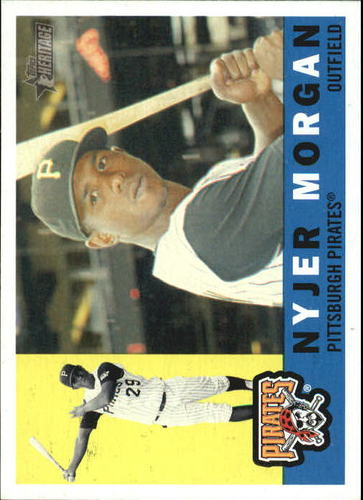 Photo of 2009 Topps Heritage #2 Nyjer Morgan