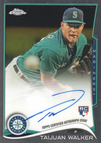 Photo of 2014 Topps Chrome Rookie Autographs #22 Taijuan Walker