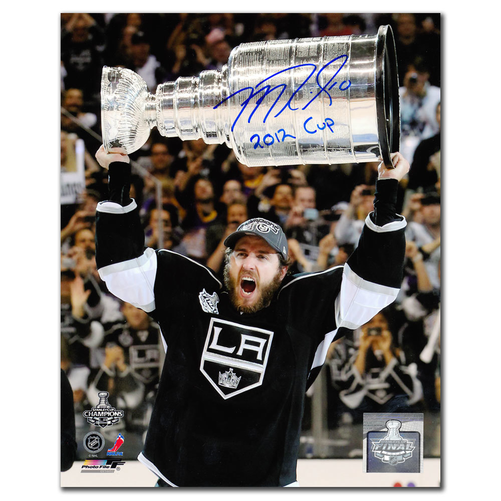 Mike Richards Los Angeles Kings 2012 Cup Autographed 8x10