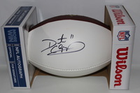 NFL - VIKINGS DAUNTE CULPEPPER SIGNED PANEL BALL (SLIGHT SIGNATURE SMUDGE)