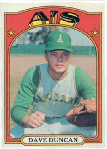 Photo of 1972 Topps #17 Dave Duncan