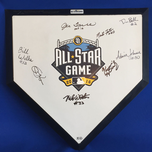 Photo of UMPS CARE AUCTION: 2016 All Star Game Crew Signed Commemorative Plate + Joe Torre + Jim Leyland