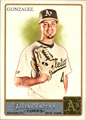 Photo of 2011 Topps Allen and Ginter #301 Gio Gonzalez SP