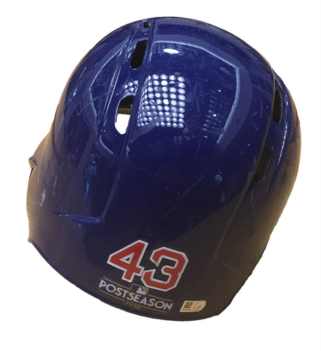 Photo of Taylor Davis 2017 Postseason Batting Helmet