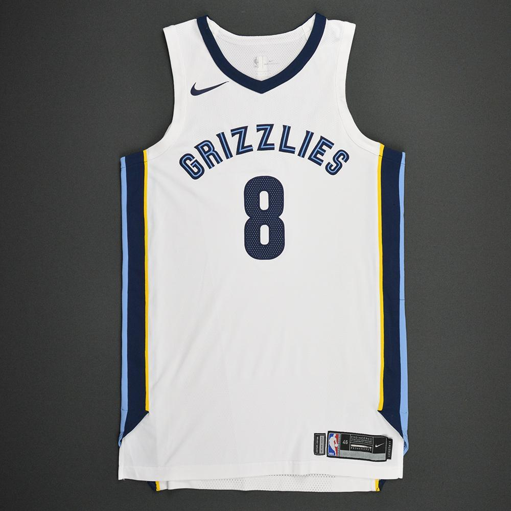 James Ennis III - Memphis Grizzlies - Kia NBA Tip-Off 2017 - Game-Worn Jersey