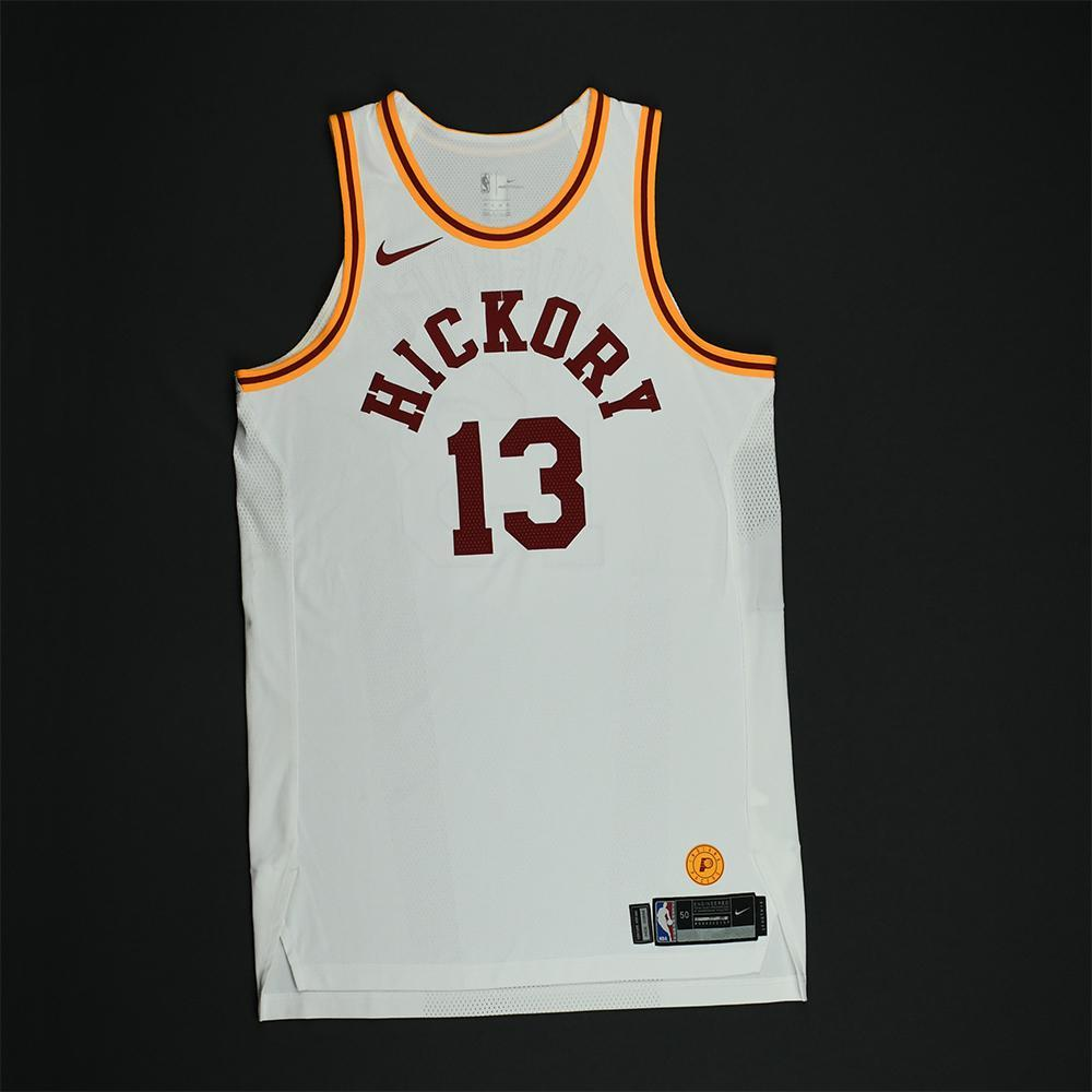 Ike Anigbogu - Indiana Pacers - 1986 Hoosiers Movie - '1954-55 Hickory Road' Classic Edition Game-Worn Jersey - Dressed, Did Not Play