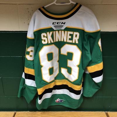 Hunter Skinner 2019-2020 Green Game Jersey