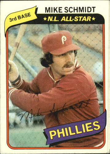 Photo of 1980 Topps #270 Mike Schmidt DP