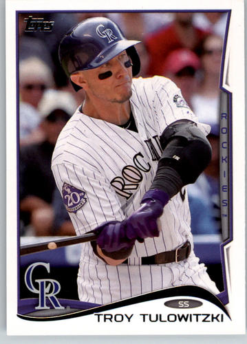 Photo of 2014 Topps #25A Troy Tulowitzki