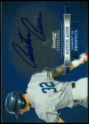 Photo of 2012 Bowman Sterling Prospect Autographs #AAU Austin Aune