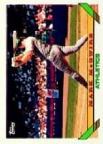 Photo of 1993 Topps Micro #100 Mark McGwire