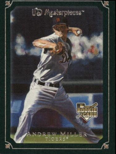 Photo of 2007 UD Masterpieces Green Linen #74 Andrew Miller