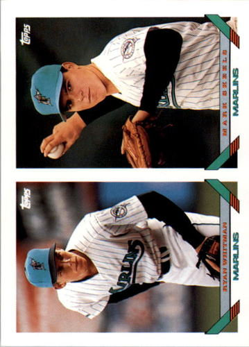 Photo of 1993 Topps #558 Ryan Whitman RC/Mark Skeels