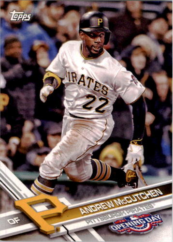 Photo of 2017 Topps Opening Day #120A Andrew McCutchen