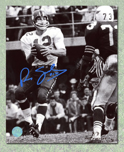 Russ Jackson Ottawa Rough Riders Autographed CFL Football 8x10 Photo