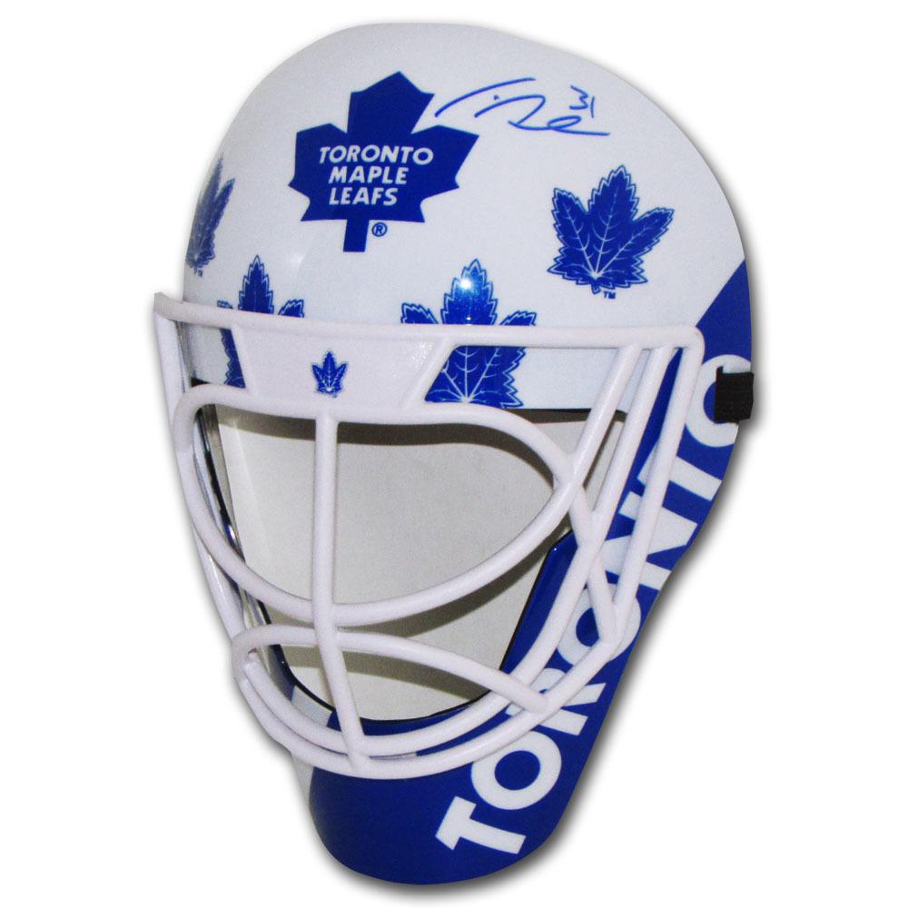 Frederik Andersen Autographed Toronto Maple Leafs Fan Mask