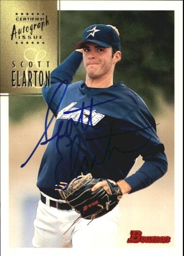 Photo of 1997 Bowman Certified Blue Ink Autographs #CA22 Scott Elarton