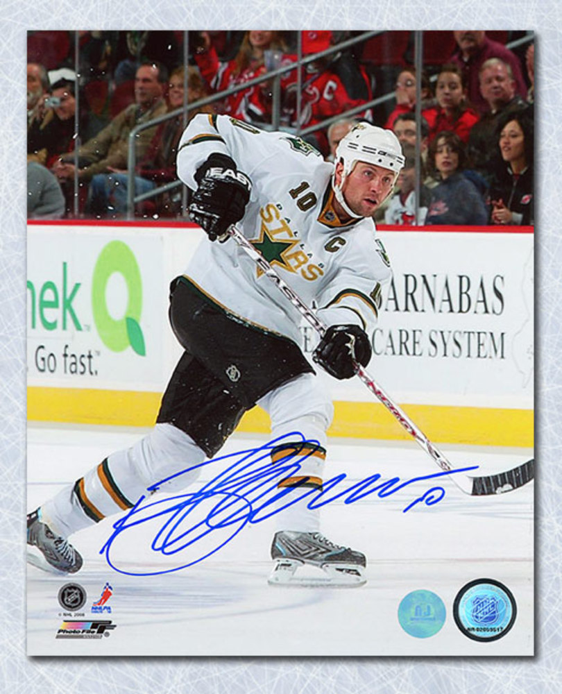 Brenden Morrow Dallas Stars Autographed Captain 8x10 Photo