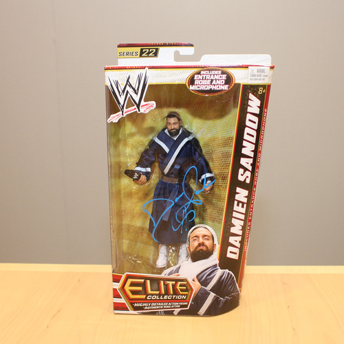 SIGNED Mattel Elite Series 22 Damien Sandow Action Figure