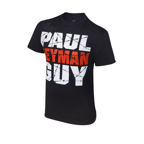 Paul Heyman SIGNED