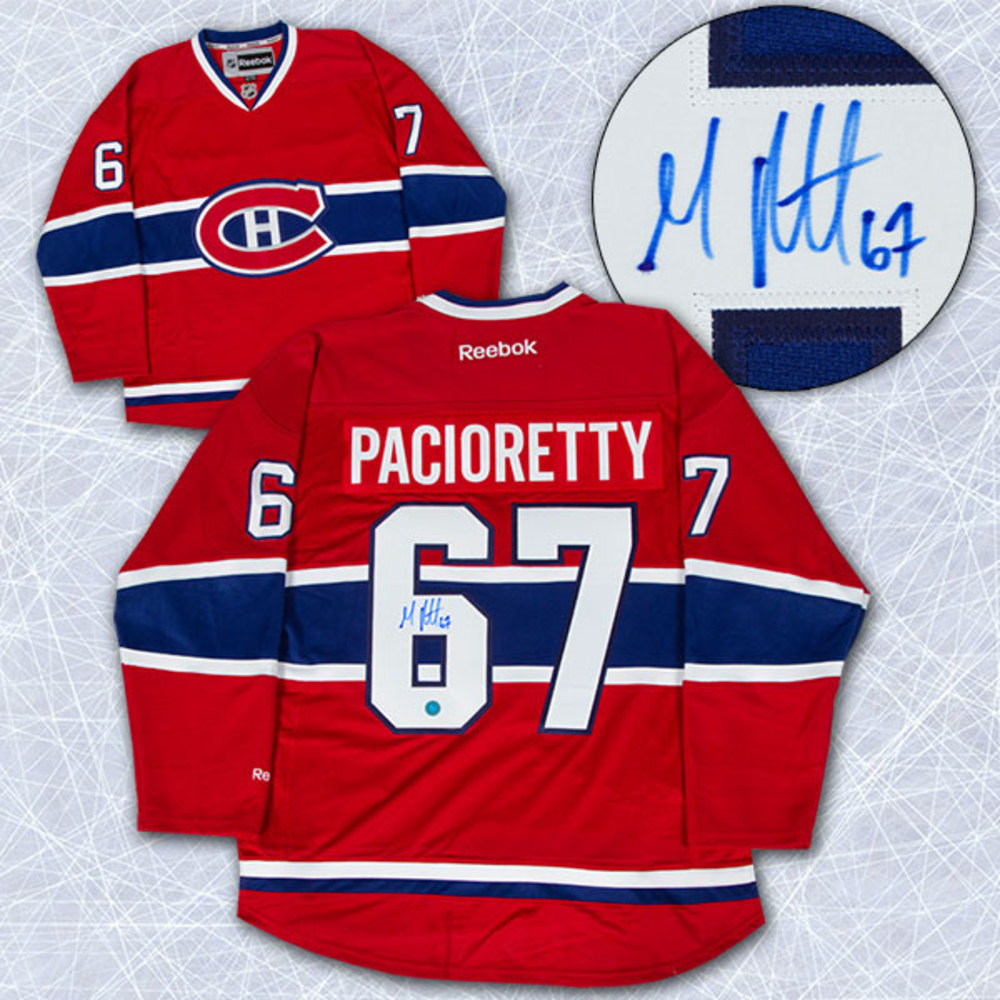 Max Pacioretty Montreal Canadiens Autographed Reebok Premier Hockey Jersey