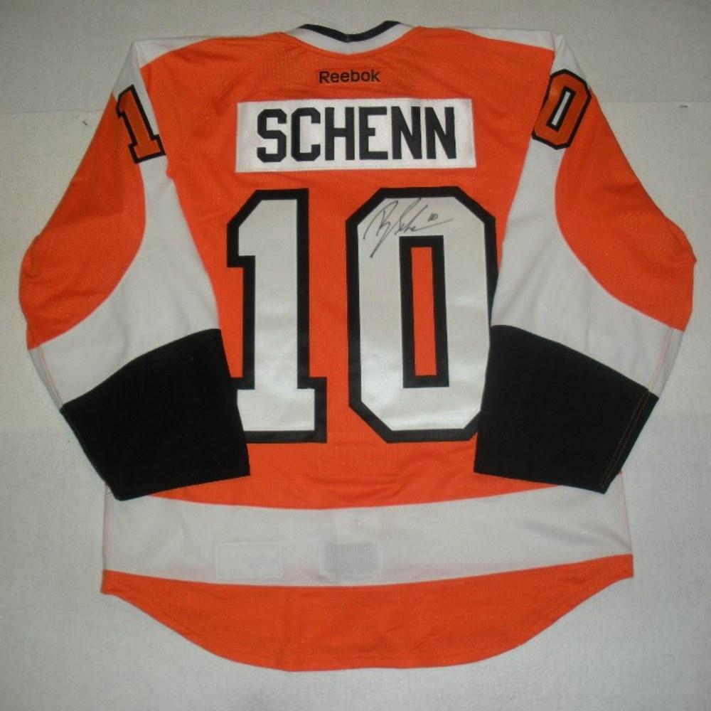 Brayden Schenn - 2014 Philadelphia Flyers Wives Carnival - Autographed Event-Worn Jersey