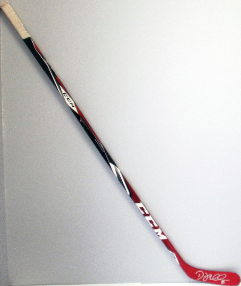#20 Drew Miller Game Used Stick - Autographed - Detroit Red Wings