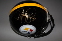 NFL - STEELERS JEROME BETTIS SIGNED STEELERS PROLINE HELMET