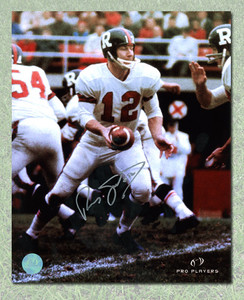 Russ Jackson Ottawa Rough Riders Autographed Colour 8x10 Photo