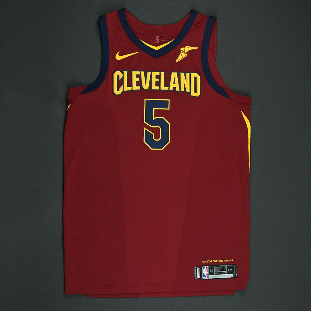 JR Smith - Cleveland Cavaliers - 2018 NBA Playoffs Game-Worn Jersey - Worn in 3 Games