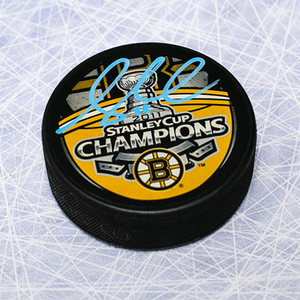 Gregory Campbell Boston Bruins Autographed 2011 Stanley Cup Puck
