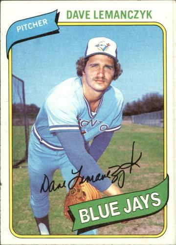 Photo of 1980 Topps #124 Dave Lemanczyk
